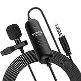 Micrófono Solapa, SYNCO S6E Micro Corbata 6 Metros Omnidireccional, Clip Microphone...