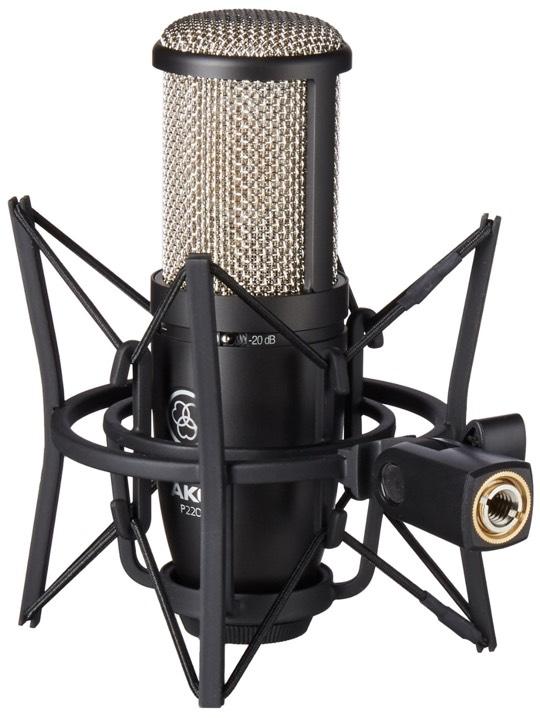 AKG P220 micrófono de condensacidor para empezar a grabar