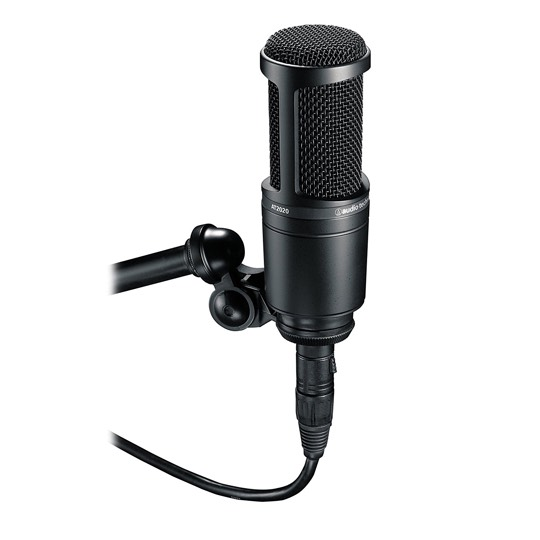 Audio-Technica AT2020 microfono de condesador para estudio