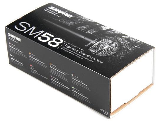 como es la Caja Shure SM58
