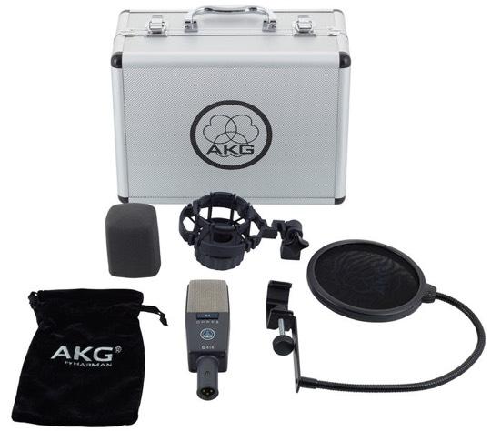 Unboxing AKG C414 XL