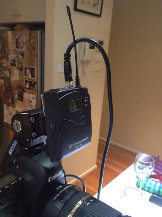 Micrófonos inalámbricos para cámaras de video