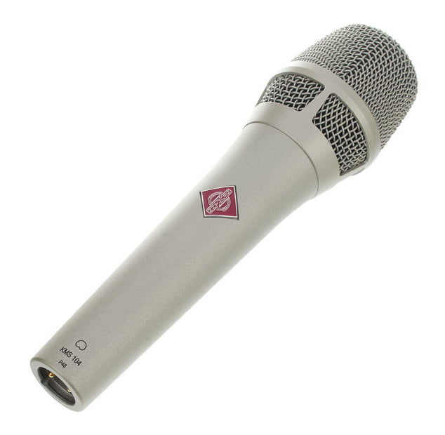 Neumann KMS104 Plata microfono de mano para cantar en vivo