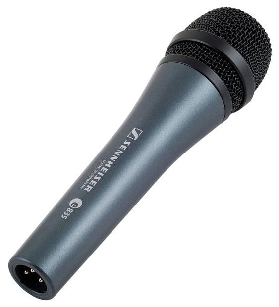 Sennheiser E835 microfono de mano