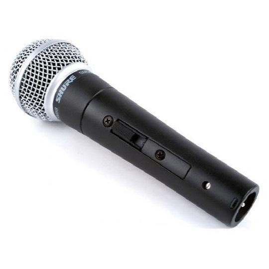 Shure Sm58 S microfono para voz con conmutador de encendido