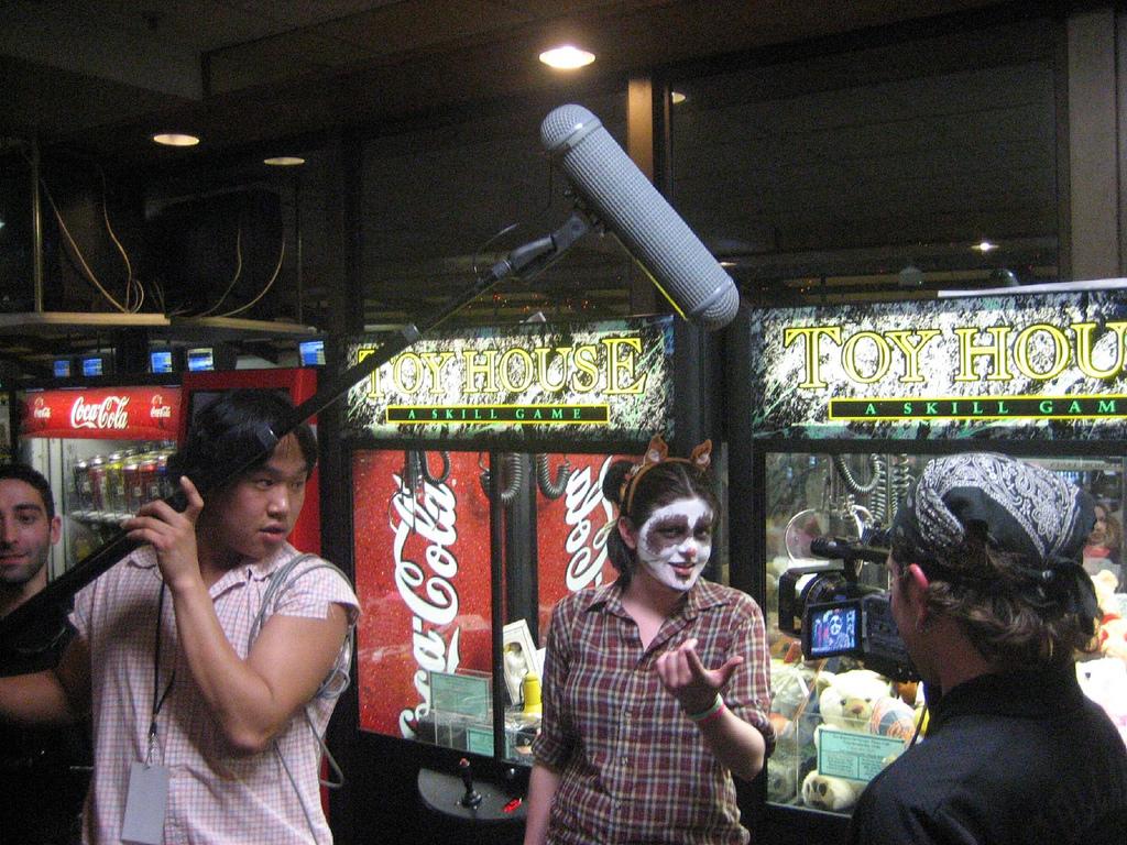 tipos de microfono para cine con antiviento