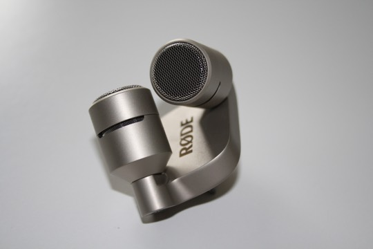 microfonos estereo Røde para telefono movil