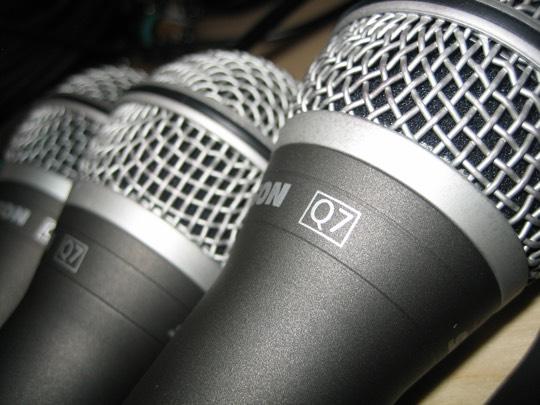 microfonos dinamicos de mano