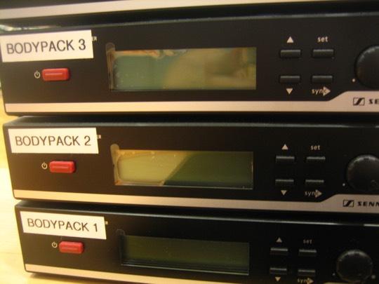 receptores de microfono inalambrico