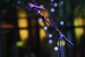 micrófonos para cantar