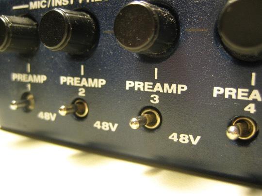 +48V phmtom power
