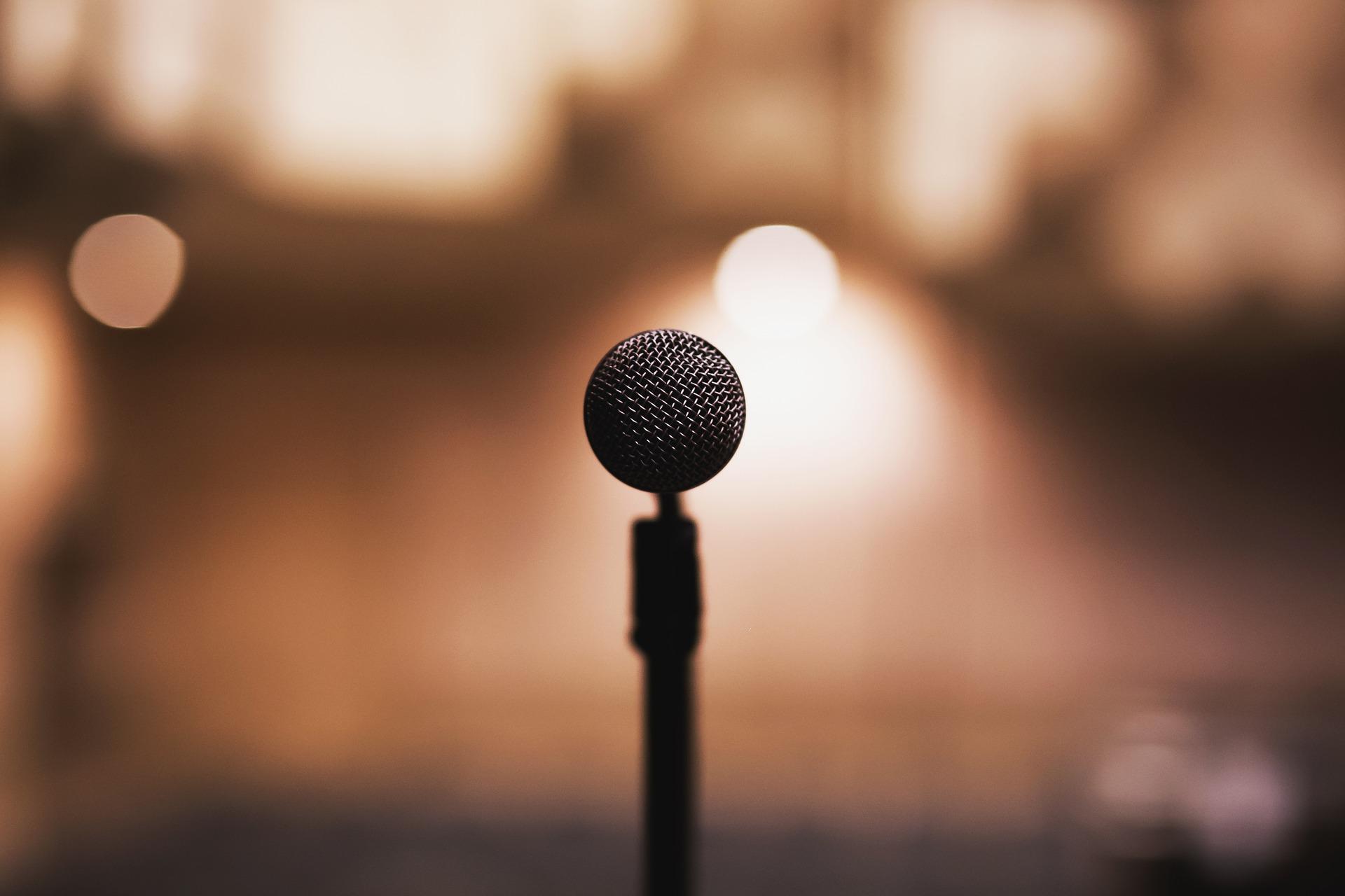 microfono voz