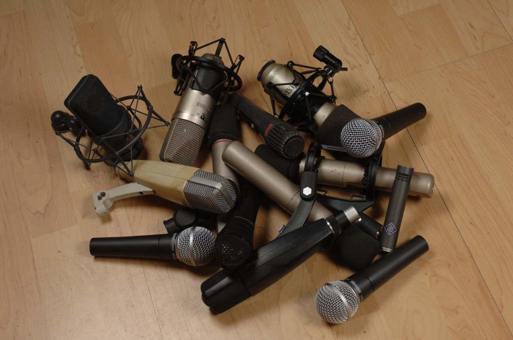 partes de un micrófono