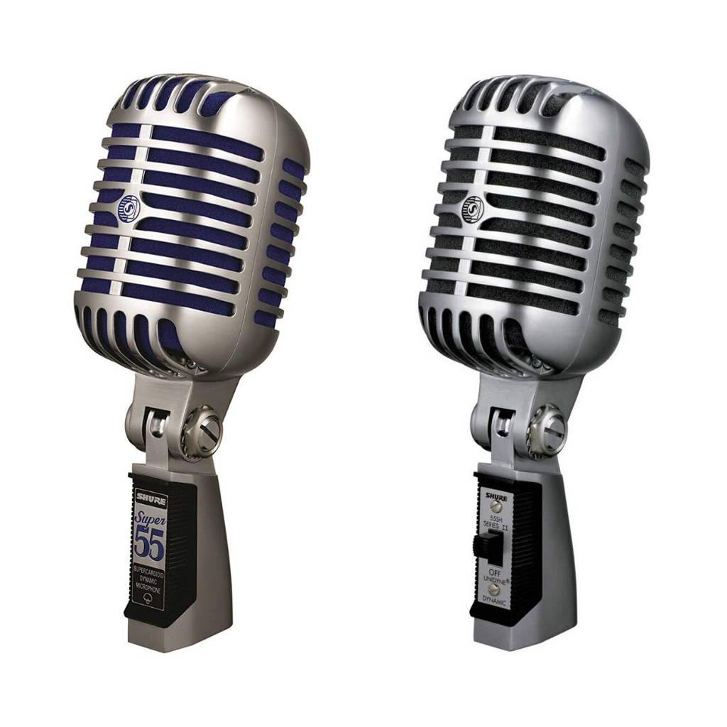 Micrófono shure super55 55sh