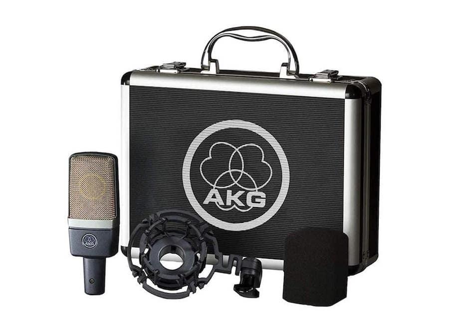 microfono akg c214