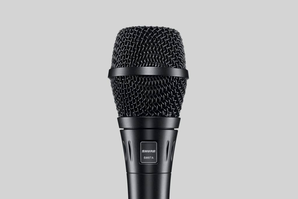 microfono shure sm87a