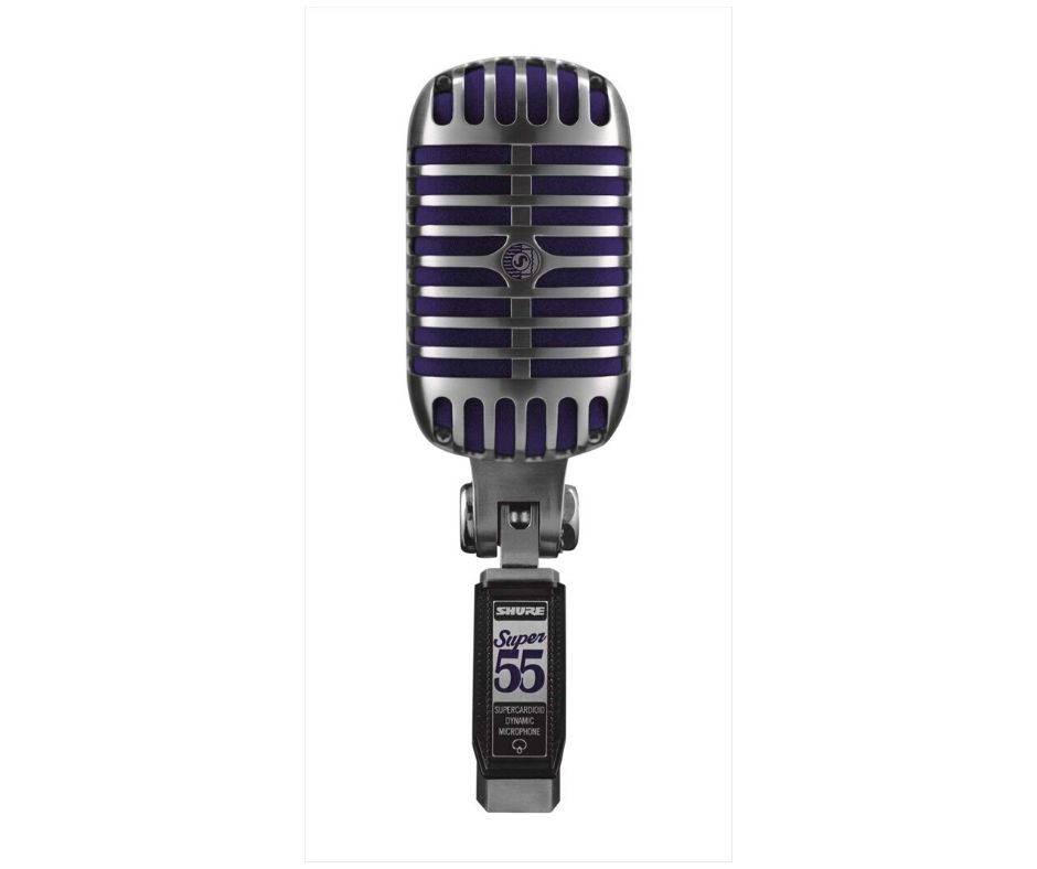 microfono shure super55
