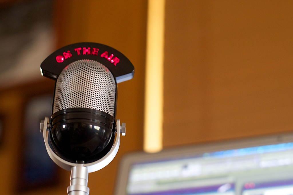 micrófonos radio